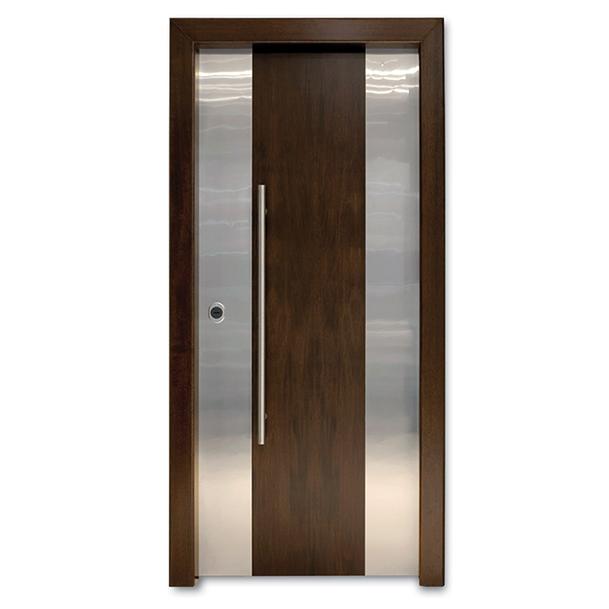 OMEGA 2 - Entry Door/Veneer Panels/Hinged/Wooden/Security