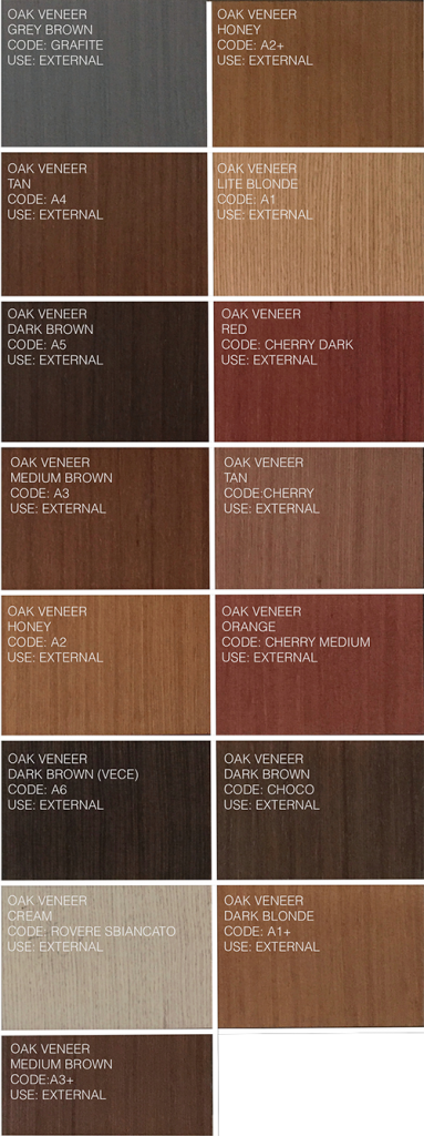 External Doors Color Options Exclusive Doors